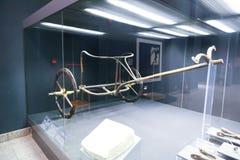Inre Luxor för militärt hjul museum Egypten Arkivfoto
