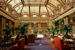 inre lyxig restauran san för francisco hotell arkivbilder