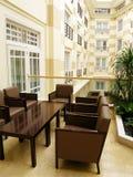 inre lyxigt foto för hotell Royaltyfria Bilder