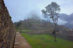 Inre Machu Picchu Arkivfoton