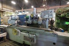 Inre malande maskin Shoppa för att bearbeta med maskin för metall Royaltyfri Fotografi