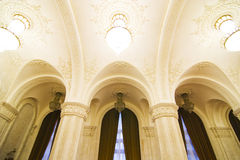 inre marmor för tak Fotografering för Bildbyråer
