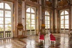 inre Marmorsaal Mirabell slott Salzburg _ Royaltyfri Bild