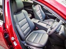 Inre Mazda3 2016 Royaltyfria Foton