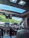 Inre Mazda3 2016 Arkivbild