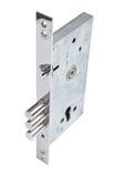 Inre mekanism av att låsa för dörr Royaltyfria Foton
