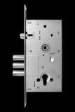Inre mekanism av att låsa för dörr Royaltyfria Bilder