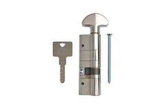 Inre mekanism av att låsa för dörr Royaltyfri Bild