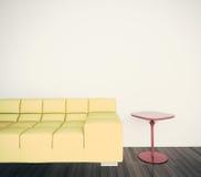 inre minsta för soffa Fotografering för Bildbyråer