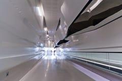 inre modern mall för korridor Fotografering för Bildbyråer