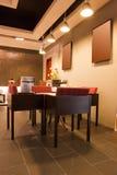 inre modern restaurang för stång Royaltyfria Bilder