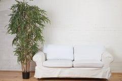 inre modern sikt för lägenhet Arkivbild