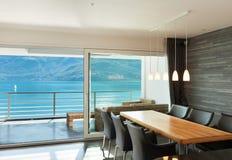 Inre moderna apartmen Fotografering för Bildbyråer