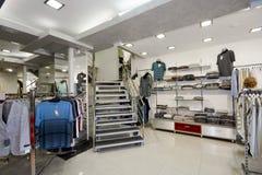 inre moderna shoppar Royaltyfri Foto