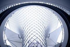 inre modernt för arkitektur Arkivfoto