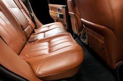 inre modernt för bil Royaltyfria Bilder