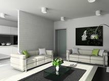 inre modernt för design Royaltyfria Foton