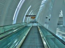 inre modernt för flygplats Arkivbild