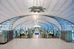 inre modernt för flygplats Royaltyfria Foton