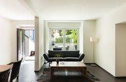 inre modernt för hus Royaltyfria Bilder