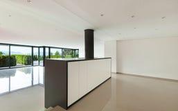 inre modernt för hus Fotografering för Bildbyråer