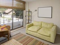 inre modernt för lägenhet arkivbilder
