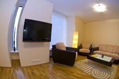 inre modernt för lägenhet Arkivfoton