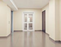 inre modernt framförande för korridor 3d Royaltyfri Foto