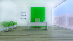inre modernt kontor Arkivbild