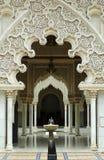 inre moroccan för arkitektur Royaltyfri Bild