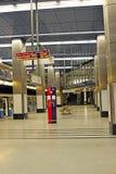 Inre Moskvatunnelbanastation  Fotografering för Bildbyråer