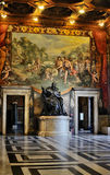inre museum rome för capitoline Arkivfoton