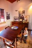 Inre Nelson Mandela Home i Soweto Sydafrika royaltyfri foto