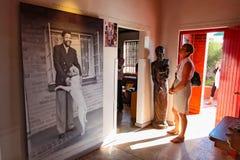 Inre Nelson Mandela Home i Soweto Sydafrika fotografering för bildbyråer