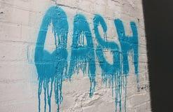 Inre norr Portland, Oregon grafitti Arkivfoto