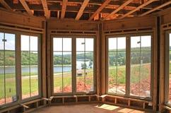 inre nya fönster Royaltyfri Foto