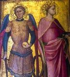 Inre och detaljer av Bargelloen, Florence, Italien Royaltyfri Foto