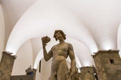 Inre och detaljer av Bargelloen, Florence, Italien Royaltyfria Bilder