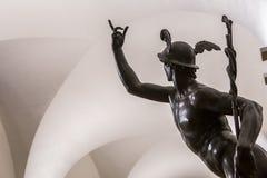 Inre och detaljer av Bargelloen, Florence, Italien Arkivfoton