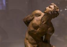Inre och detaljer av Bargelloen, Florence, Italien Royaltyfri Bild