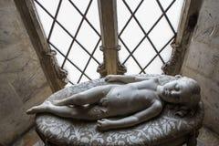 Inre och detaljer av den Siena domkyrkan, Siena, Italien Royaltyfri Fotografi