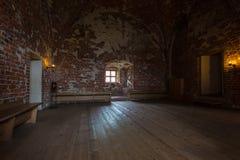 Inre och detaljer av Turku rockerar i Finland Arkivfoto
