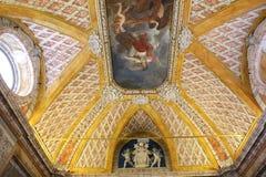 Inre och detaljer av Vaticanenmuseet, Vatican City Royaltyfri Fotografi