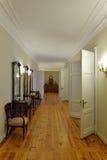 Inre och inre av Hus-museet av Pyotr Abram Arkivfoton