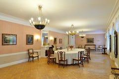 Inre och inre av Hus-museet av Pyotr Abram Fotografering för Bildbyråer