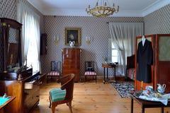 Inre och inre av Hus-museet av Pyotr Abram Royaltyfria Foton