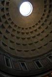 inre pantheon rome royaltyfria foton