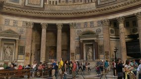 inre pantheon rome stock video