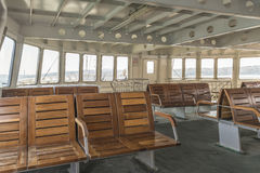 Inre passagerareskepp med placering Royaltyfri Foto