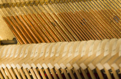 inre piano royaltyfri bild